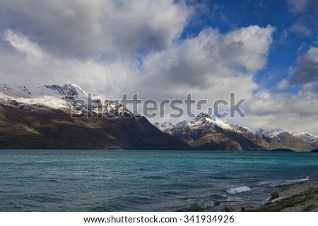 South Island Landscape Scenery, Central Otago, New Zealand