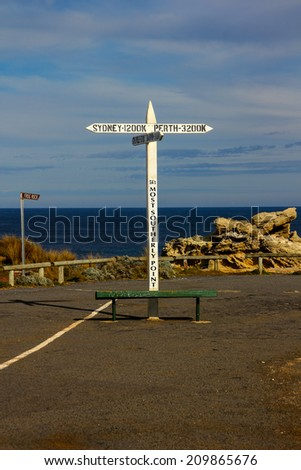 South most point in South Australia, tourist destination