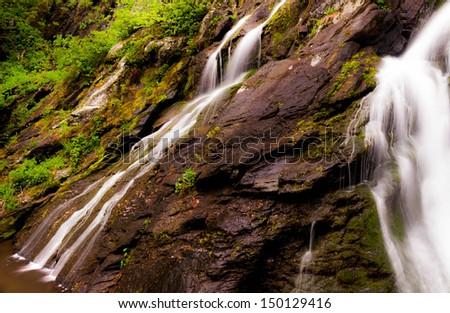 South River Falls, Shenandoah National Park, Virginia. - stock photo