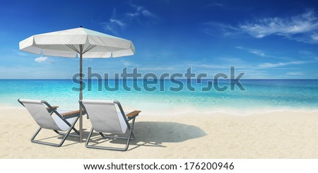 South Sea Beach - stock photo