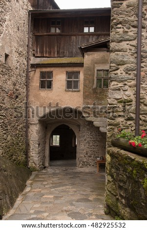 South Tyrol medieval castle