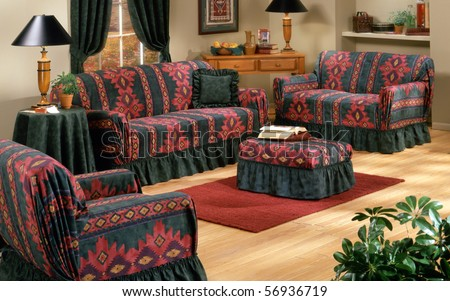 South west living room set - stock photo