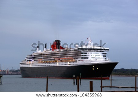 Southampton uk 5 june three queens stock photo royalty free southampton uk 5 june three queens cunard ships queen mary 2 m4hsunfo Images