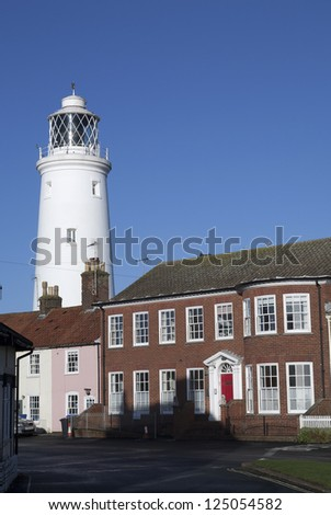 Southwold Lighthouse. - stock photo