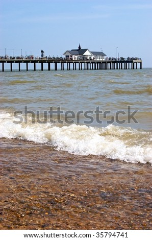 Southwold Pier - stock photo