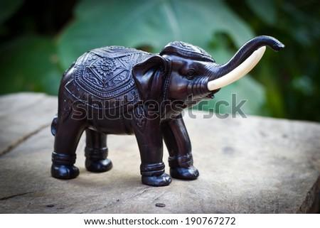 Souvenir thailand , Decorative elephant model - stock photo