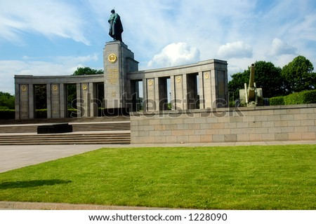 Soviet Monument, Berlin - Germany