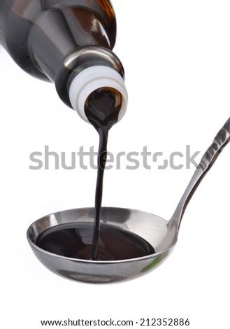 Soy Sauce - stock photo