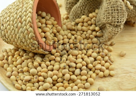 Soybean best for healthy. Used for cooking and healthy menu. Or soy milk is delicious
