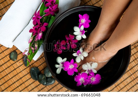 Spa - stock photo