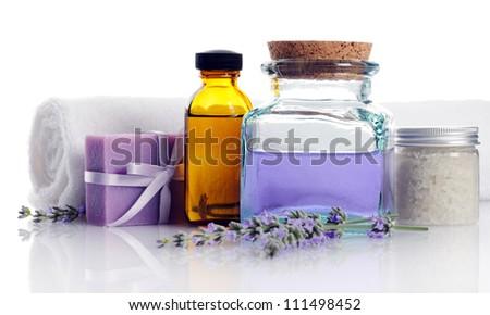 spa accessories - stock photo