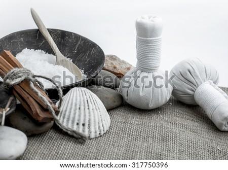 Spa and Massage - stock photo