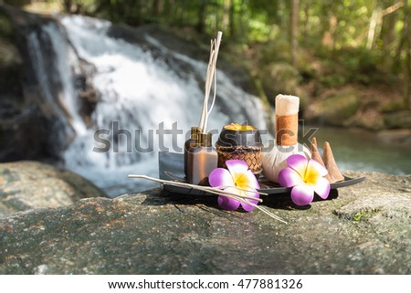 Spa aroma equipment with the beautiful refresh nature