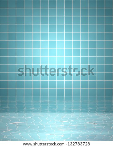 bathroom tiles background. Spa Background With Bathroom Tiles And Water