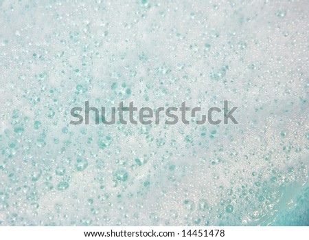 Spa bubbles background - stock photo