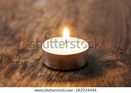 Spa Candle light - stock photo