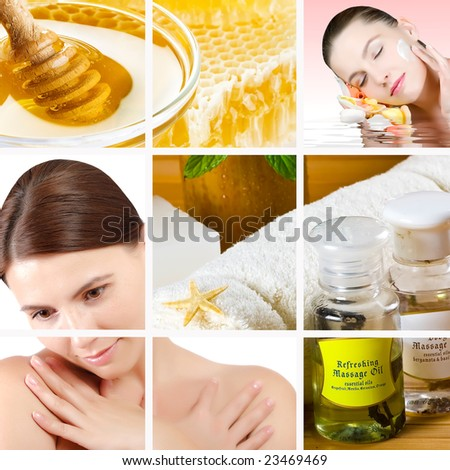 Spa composition - stock photo