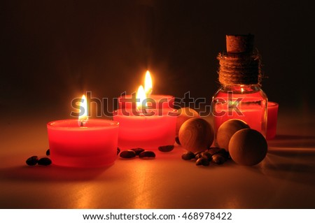 Love heart shape candle stock photo 431845939 shutterstock for Spa smelling candles