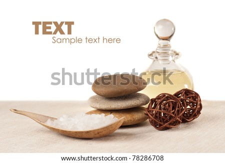 Spa elements - stock photo