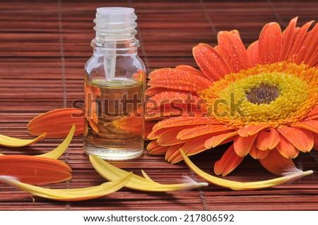 Spa Essential Oil.Aromatherapy  - stock photo