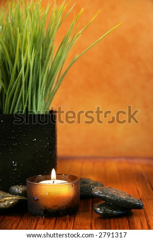 Spa feeling - stock photo