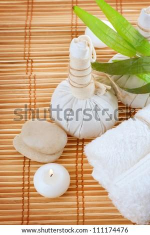 spa massages - stock photo