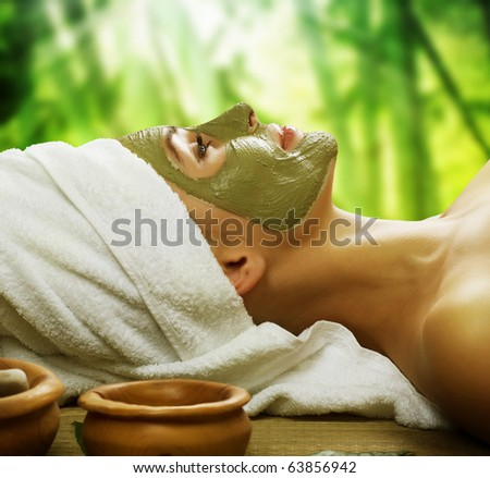 Spa Outdoor - stock photo