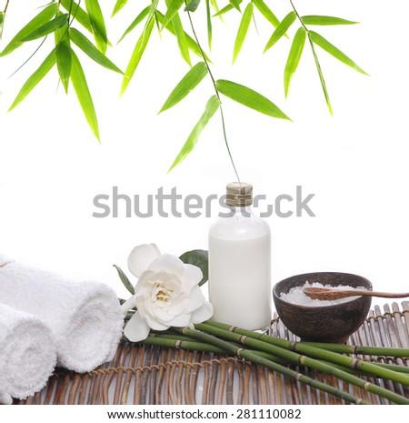 Spa setting background- - stock photo