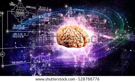 Space brain. science