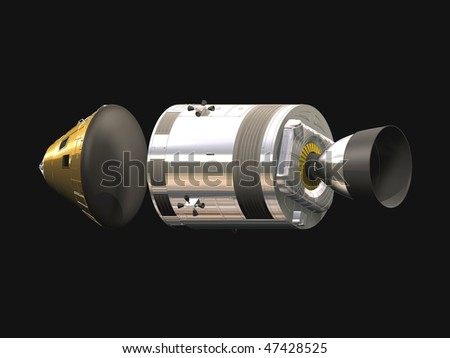 Space Exploration - stock photo