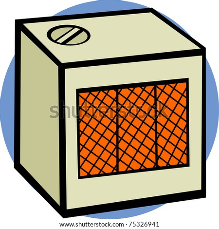 Image result for illustration of space heater