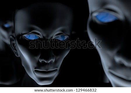 Space other forms of life - stock photo