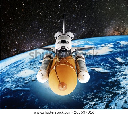 if an astronaut in an orbiting space shuttle wished - photo #23