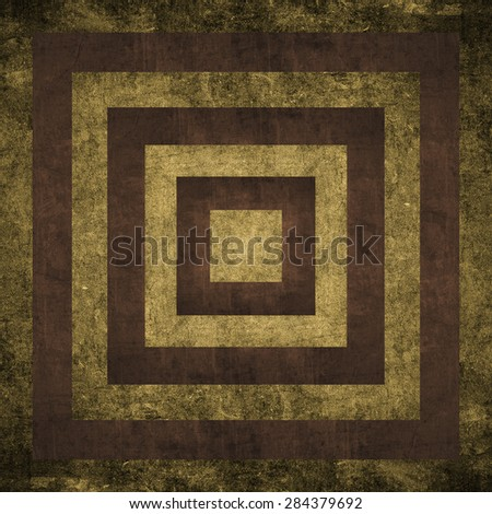 space with abstract pattern old textured - stock photo