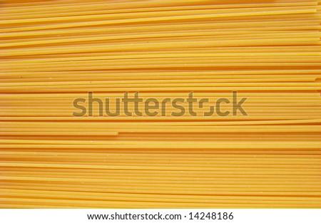spaghetti as background - stock photo