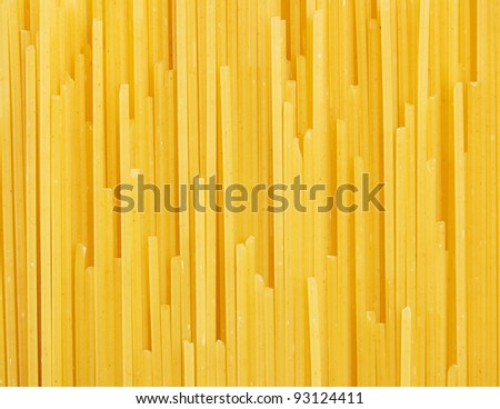 Spaghetti background macro shot - stock photo