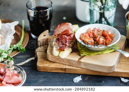 spain appetizer - stock photo