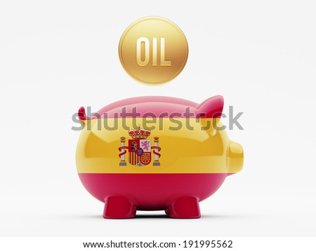 Spain High Resolution Oil Concept