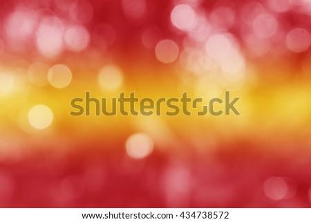 SPAIN : National flag. Soft blurred bokeh natural background. Abstract gradient desktop wallpaper. - stock photo