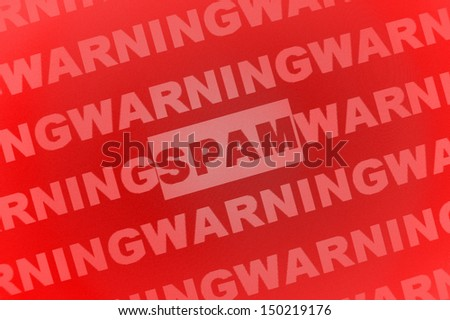 spam mail - stock photo