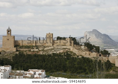 Spanish Castle and mountain