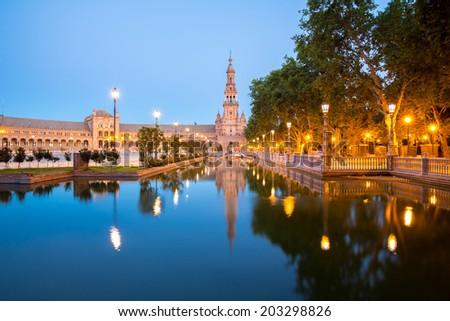 Seville spain stock images royalty free images vectors - Garden center sevilla ...