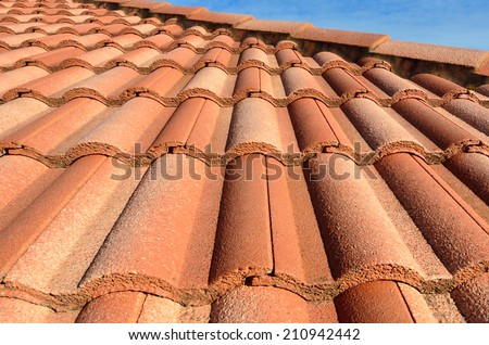 Spanish house stock photos images pictures shutterstock for Spanish clay tile