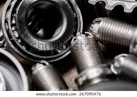 Spare, car, pressure. - stock photo