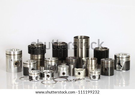 spare parts - stock photo