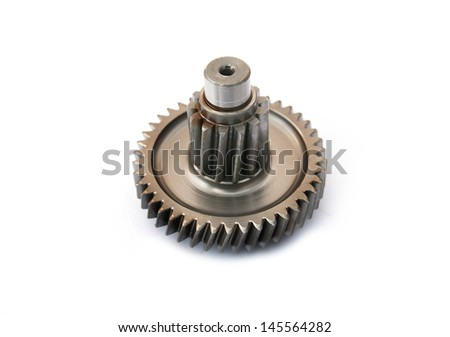 Spare parts and repair homes, replacement of faulty modules, the internal combustion engine - stock photo