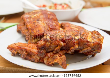 Spareribs with Barbecue Sauce