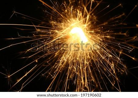 sparkles - stock photo