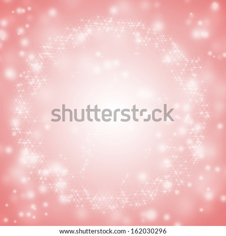 Sparkling red seasonal holiday background with white lights. - stock photo
