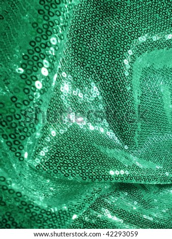 sparkling sequined background. More of this motif & more sequins in my port. - stock photo